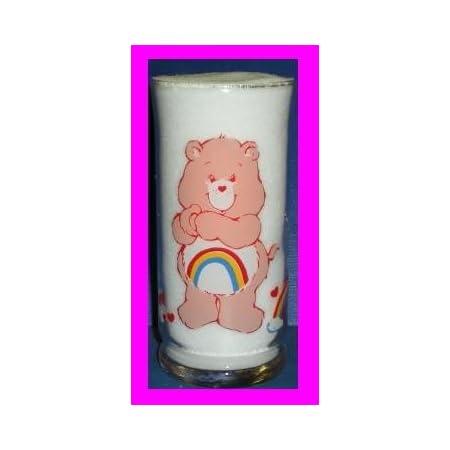 Grumpy Carebear wine glass
