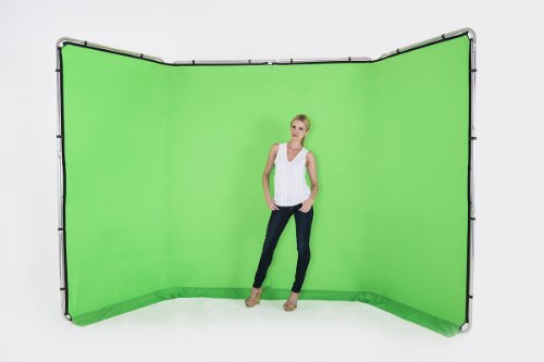 Lastolite by Manfrotto LL LB7622 4 m Panoramic Background Cover, Chromakey Green