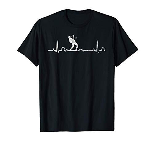 EKG Gitarristen Geschenk Gitarre T-Shirt