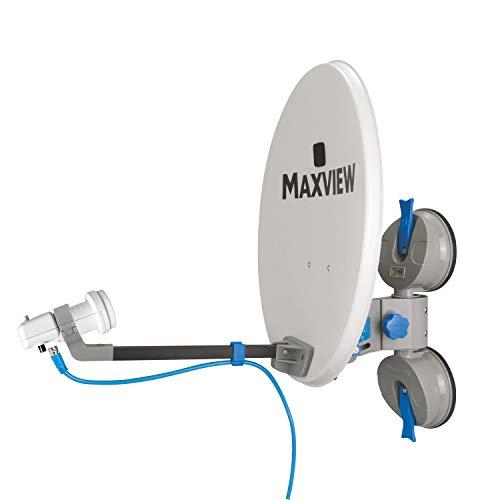 Maxview EasyFind Remora 38cm Sat Anlage inkl Full HD Receiver Camping Sat Anlage
