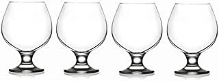 Epure Milano Collection 4 Piece Glass Set (Brandy (13.25 oz))
