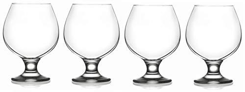 Epure Milano Collection Glass Drinkware Set (Brandy (13.25 oz))