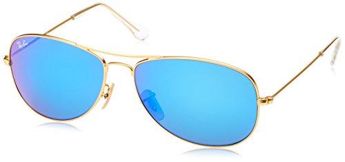 Ray-ban Mod. 3362 - Gafas de sol para hombre, Gold (112/19 112/19), Talla inglesa: talla nica