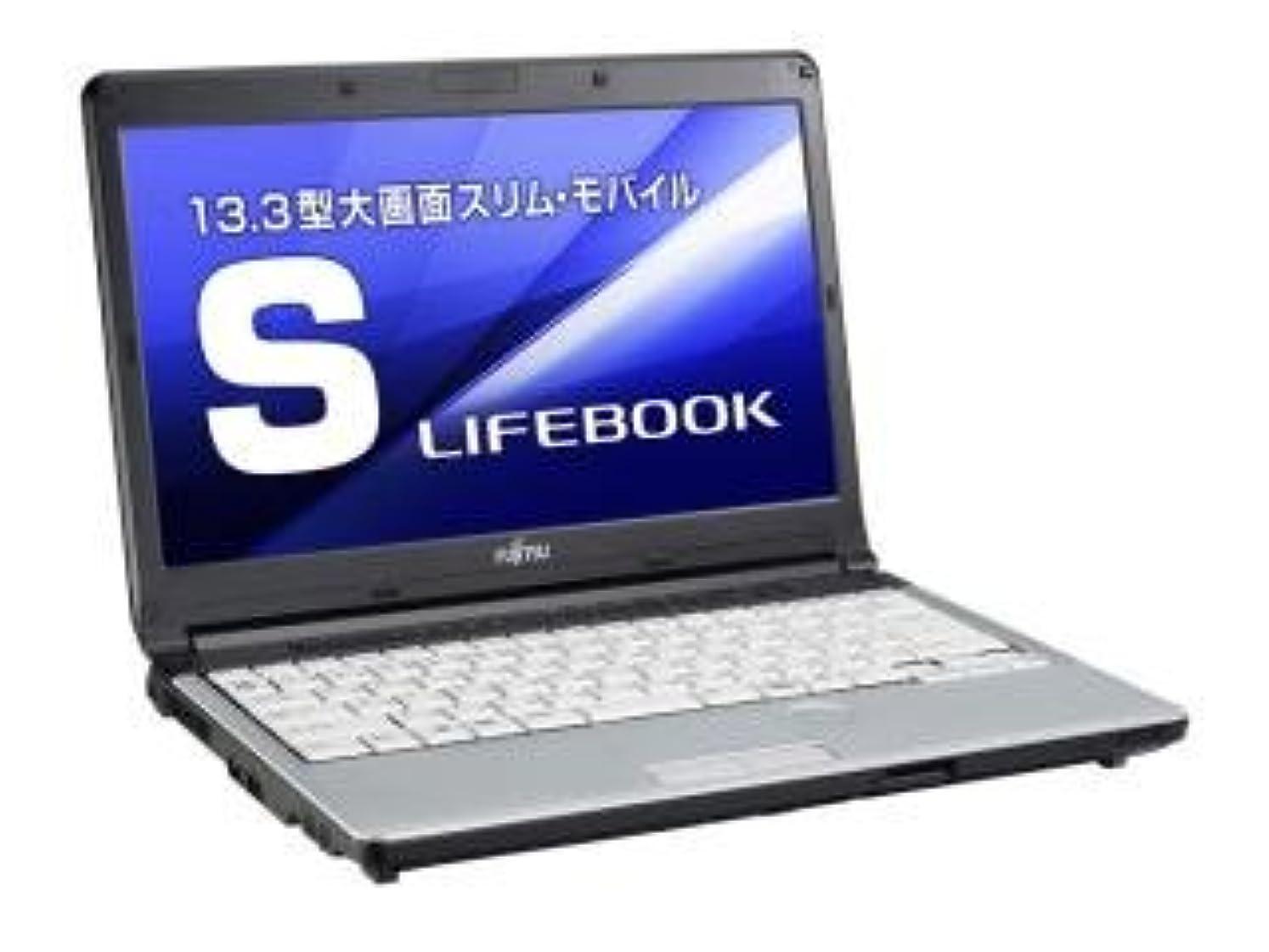 人柄祭司変装【Microsoft Office2010搭載】【Win 10 搭載】FUJITSU S761/D 第二世代i5 2.5GHz搭載 メモリー4GB搭載 HDD320GB搭載 無線LAN搭載 13型ワイド