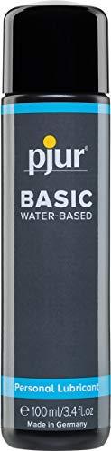 pjur BASIC WATERBASED - Gleitgel auf Wasserbasis für Einsteiger - auch für Toys geeignet (100ml)