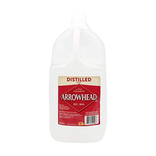 Arrowhead Brand Distilled Water, 127.99 oz