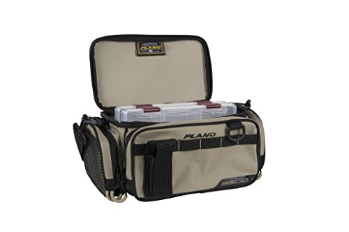 Plano PLAB35111 Weekend Series 3500 Size Tackle Case, Tan, Premium Tackle Storage