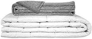 GRAVITY ORIGINAL Therapiedecke Gewichtsdecke - Schwere Decke für Erwachsene/Jugendliche Für besseren Schlaf, Größe: 155x220 cm, 12 kg