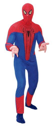 Cesar- Spider-Man Costume Carnevale per Adulti, Rosso, Unica, E116-002