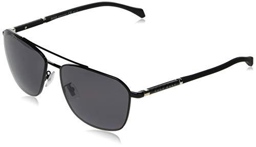 Hugo Boss Herren BOSS 1103/F/S Sonnenbrille, Schwarz, 62