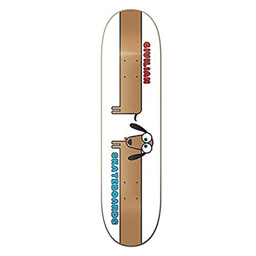 CIVILIAN SKATEBOARDS Wiener Hunde-Skateboard-Brett/Deck, 19,7 cm, hergestellt in Kalifornien