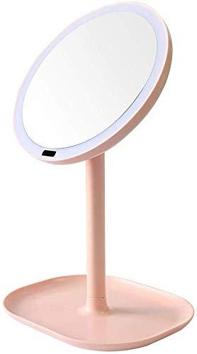 LYF con Espejo de Maquillaje con luz LED, Pantalla táctil USB Recargable...