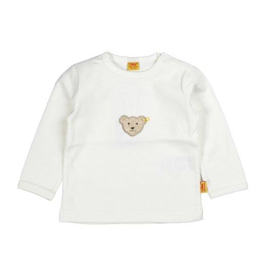Steiff Unisex - Baby Sweatshirt 0006671 56 Elfenbein (1610)