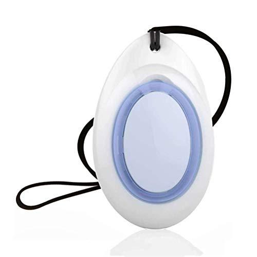 Wenore - Purificador de aire personal con carga USB, PM2,5 para viajes de iones negativos, generador Eliminador para eliminar el humo, el polvo, el olor y el purificador de aire