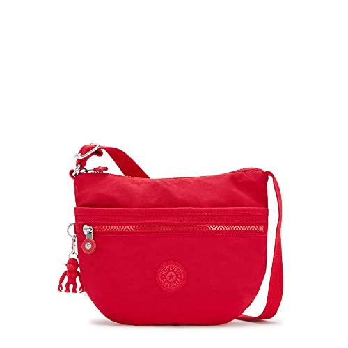 Kipling Arto S - Borsa a tracolla da donna, taglia unica, Rosso (Red Rouge), One Size