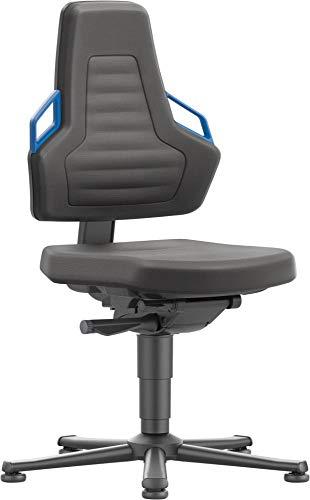 bimos Stuhl/Bürostuhl Nexxit 1 Gleiter Supertec Griff blau
