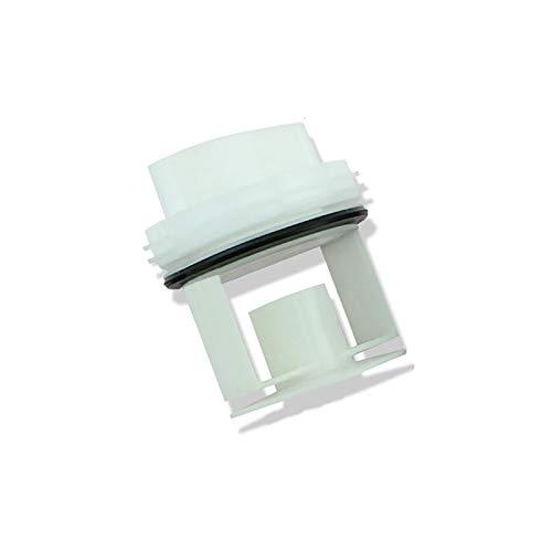 LICHIFIT Waschmaschinen-Ablaufpumpe Ablaufventil Dichtungsstopfen für Siemens Bosch WM1095/1065 WD7205 weiß