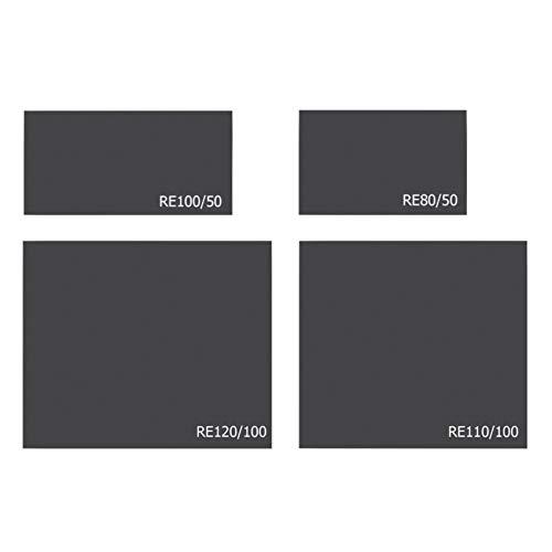 ProTermo Stahlbodenplatte | Funkenschutzplatte (Rechteck, 80 x 50 cm)