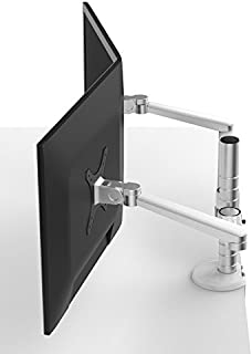 OPUS 2 44.5 cm Monitor Arm for Dual 75-100 mm Monitor with Adapter
