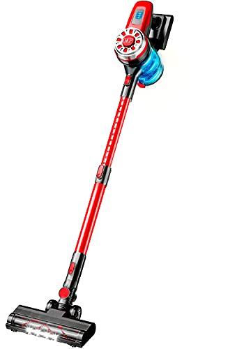 OKP X100 Cordless Vacuum Cleaner 17Kpa Stick Vacuum Cleaner 4 in 1 Lightweight Handheld Vacuum Cleaner Wireless Vacuum Cleaners for Pet Hair and Hardwood Floor Carpet