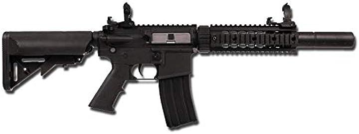 Fucile softair cyber - gun fucile softair polimero colt m4 silent ops nero 0.9 joule - 180863 B07PFNVWKL
