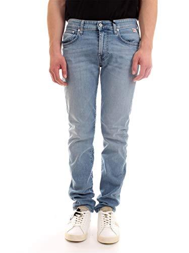 Roy Roger's P21RRU076D3171631 Jeans Slim Uomo Blu Denim 33