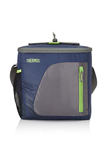 THERMOS Kühltasche Radiance medium 15 Liter - Isolierte Einkaufstasche aus Polyester, blau 21,6 x 29,2 x 25,4 cm - Faltbare Isoliertasche für Sport, Picknick, Büro, Auto oder Urlaub - 4081.252.150