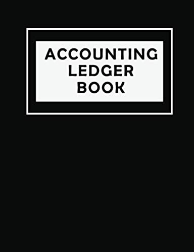 Accounting ledger: bookkeeping , simple ledger book for business