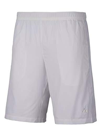 Dunlop 71352 Pantalones Cortos de Tenis para Hombre, Blanco,...