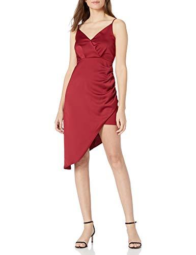 BCBGeneration Damen Asymetrical Hemline Dress Cocktailkleid, apfelgrün, 36