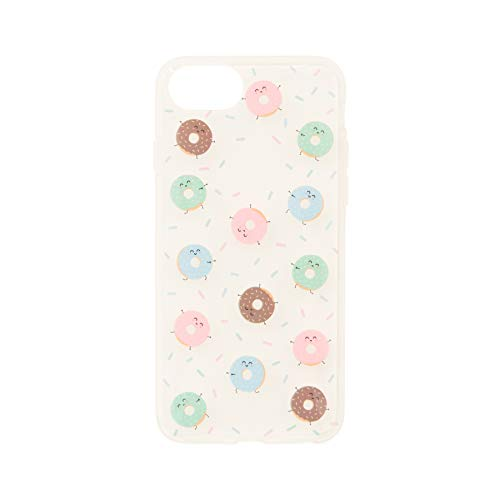 Mr. Wonderful Funda Smartphone - Diseño Exclusivo Mini Rosquillas Compatible con Apple iPhone 7/8