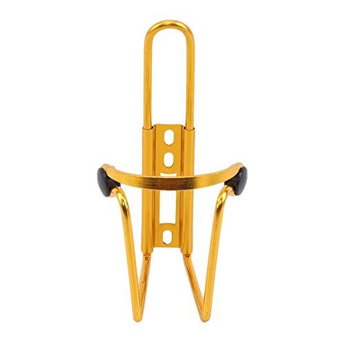 unknow JIUZUI Fahrrad-Wasserflaschenhalter, leichte Wasserflaschenkäfige für das Fahren im Freien,Gelb