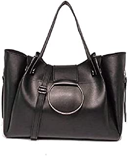 حقيبة للنساء-اسود - حقائب كبيرة توتس