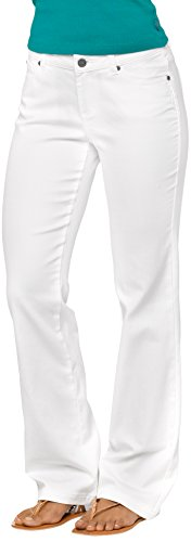 Prana Damen Jada Jean-Short Innenhose Weiß Größe 42