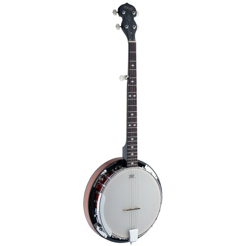 Stagg BJW24 DL Banjo Western Deluxe 5 Cordes