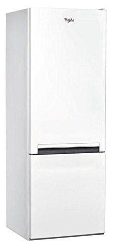 Réfrigérateur combiné Whirlpool BLF5001W - Réfrigérateur congélateur bas - 271 litres -...