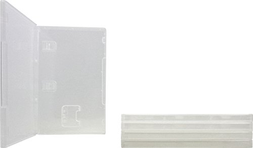 10mm Clear Game Cases - Compatible With Nintendo Switch - 1-Cartridge Capacity - VGBR10SWCL (5 Cases)