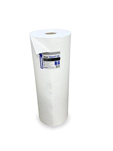 1 Rolle ALSAN PMMA VLIES 1,05 x 10,0 Meter | perforiertes und mechanisch verfestigtes Spezialkunstfaservlies mit 110,0 g/m² Flächengewicht - zur Verarbeitung mit ALSAN PMMA Flüssigkunststoff