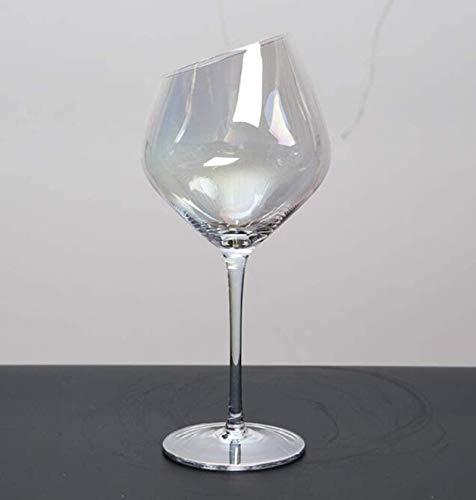 Decantador de vino de vino de cráneo y gafas Set ANTER VINO MULTICOLOUR ANTER - 100% Línea de plomo en forma de vino de cristal de cristal CAJA DE VINO MANO MANO VINO ROJO ANTER ANTER Diseño transpare