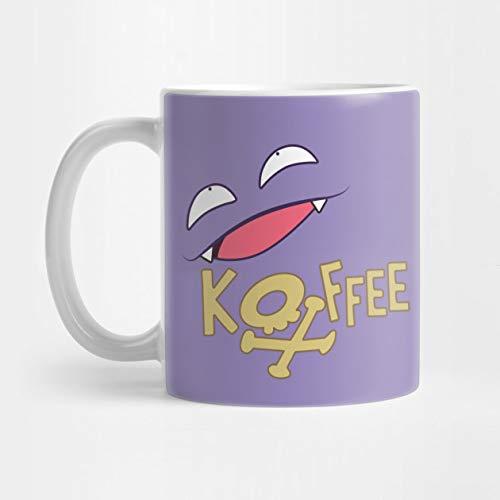Llynice Taza de café Koffee 324 ML