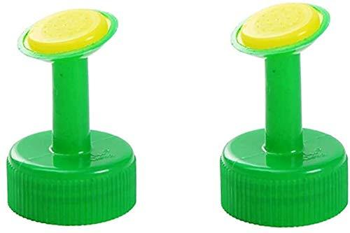 LHY- Herramientas de riego de jardinería para regar Flores Pequeño aspersión Portátil Hogar Suculento de riego en Maceta Boquilla de rociadores de Flores (Verde * 2) Conveniente (Color : Green*2)