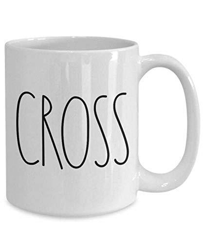 N\A Taza de café Divertida Pascua Mugs - Tazas de Regalos religiosos para Mujer, Taza de fe, Regalo de comunión, Novedad de Christia, Regalo de cumpleaños, Taza de té, 11 oz, Color Blanco