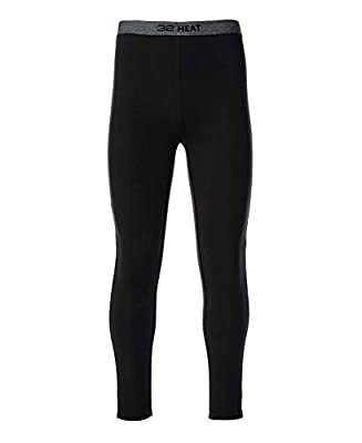32 DEGREES Mens Heat Performance Thermal Baselayer Pant Leggings, Black, XLarge