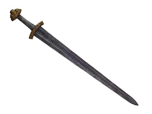 Mini-Ritter.de Espada vikinga PE Viking Jarls de plástico, ideal para LARP