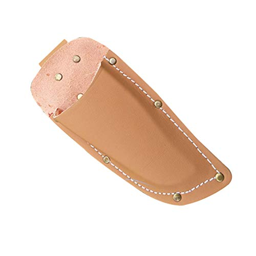 Funda de piel sintética para herramientas de electricista, funda protectora compacta, bolsa de soporte para tijeras de podar