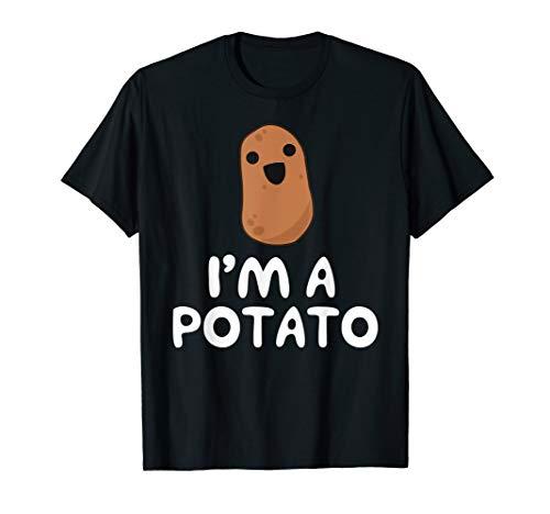 I'm A Potato - Funny Potato Gift, Vegetable Food Gag T-Shirt