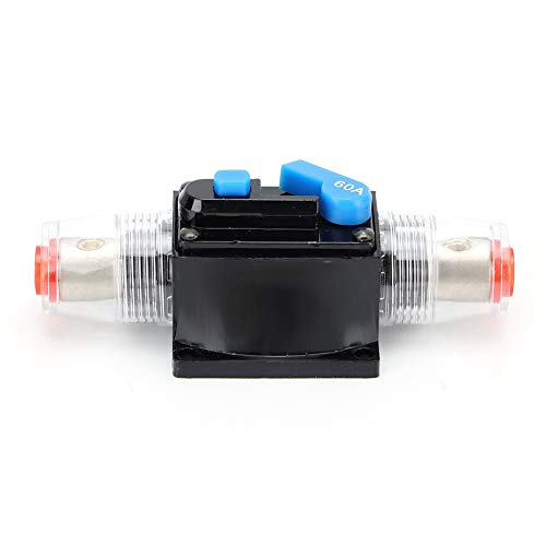 Interruptor de Circuito de Coche 12V Interruptor de Interruptor de Fusible Reemplazo para el Audio del Barco
