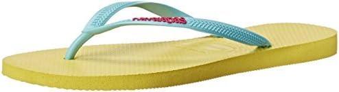 Havaianas Women's Slim Logo Pop Up Multicolored Flip-Flop Sandals