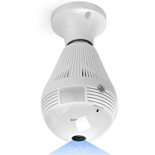 1080P Cámara IP Inalámbrica Cámara de Vigilancia WiFi HD Visión Nocturna Detección de Movimiento Remoto Alerta de Aplicación Audio Bidireccional Monitor para Bebé/Mascota/Tienda