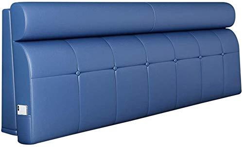 OYY Manufacture Kissen Rückenlehne Bett Kissen Rückenkissen Betten Nachttisch Zum Kopfteil Sanft Kopfstütze Lesen Gepolstert Pads Pflegeleicht (Color : D, Size : 120x12x60cm)
